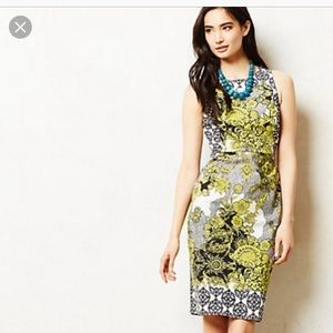 Weston Wear for Anthropologie Aures Floral Sheath